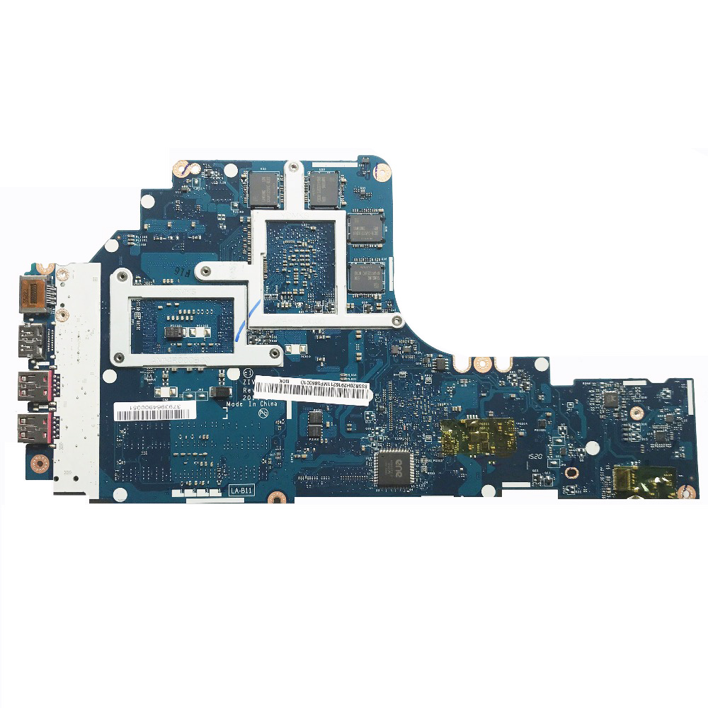 LA-B111P For Lenovo Y50-70 Laptop Motherboard With i7-4720HQ 2.60GHz CPU 4GB GPU