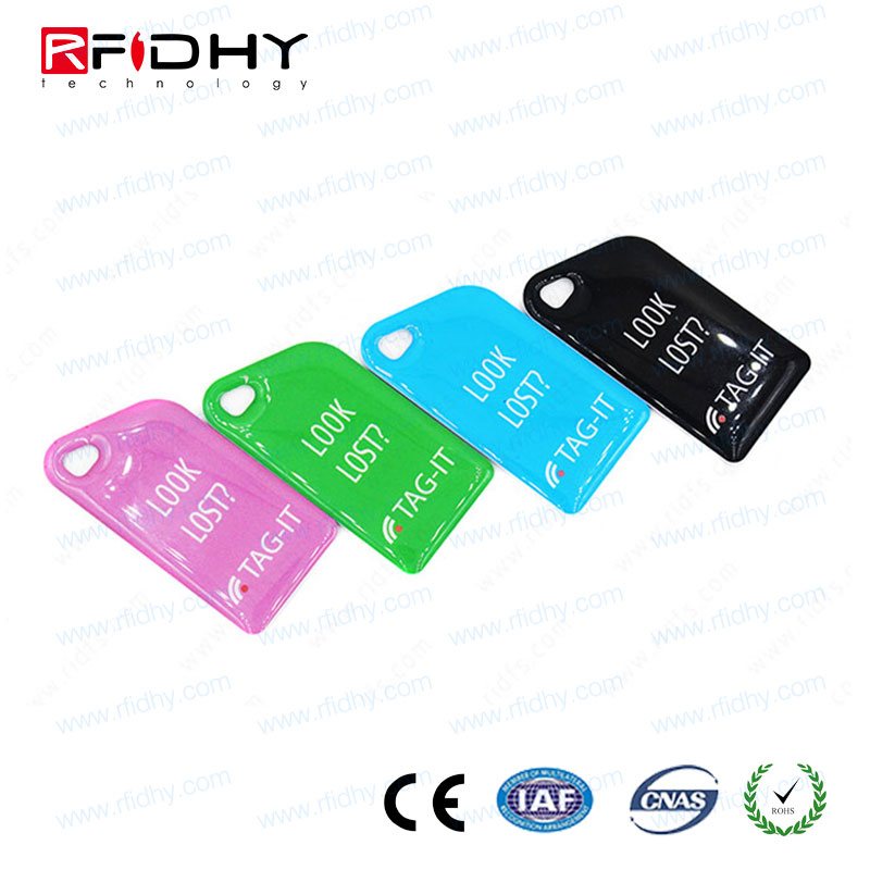 Custom PVC/ABS RFID ket tag/epoxy key tag China manufacturer