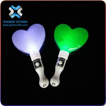 Hot sales Promotional USB flash drive heart led light branding USB stick , led heart stick