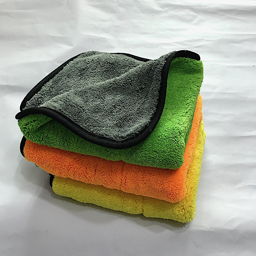 Best suited for drying wet surfaces or for use with quick detail and waterless  car wash cloth auto details wash