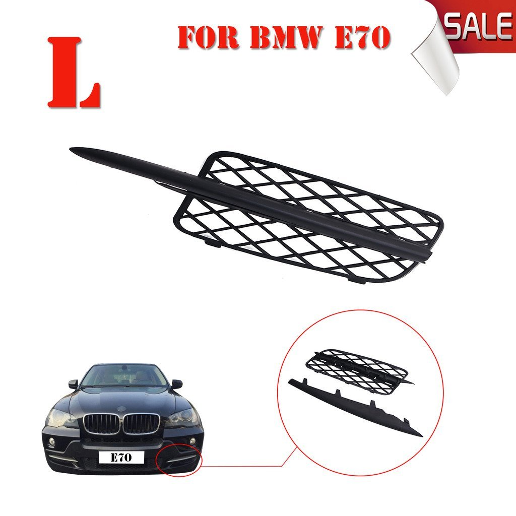 General Mega Left(Driver Side) Front Bumper Lateral Grill & Trim Molding For BMW X5 E70 2007-2010