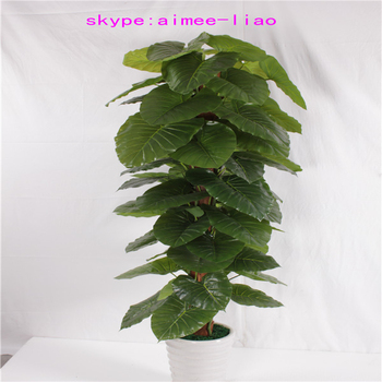 Q082612 Different Types Of Plants And Trees Artificial Large Indoor Plants  Evergreen Artificial Bonsai