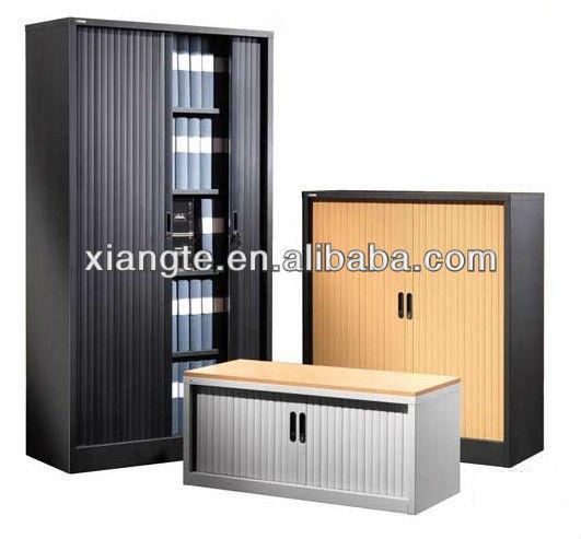 Steel Tambour Door Cabinet Roller Shutter Sliding Door