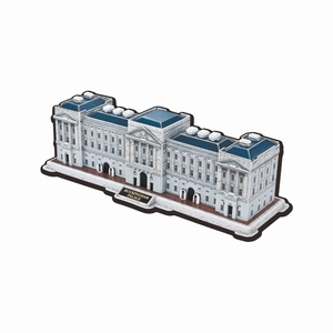 New Gift UK London England Buckingham Palace Paper puzzle DIY Toys 3D Jigsaws Puzzle,Tourist Puzzle Symbolic Building Toys