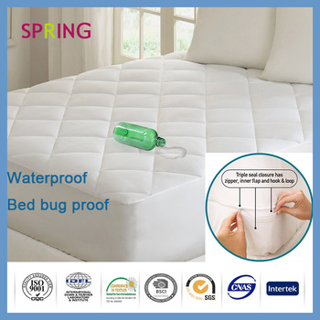 Quilted Adult Mattress Protector/anti Bacterium/anti Dust Mite Bed Sheets  Double Bed Designs