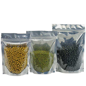 18*26*4CM Resealable Ziplock and Heat Sealable for Food, Pack of 100/