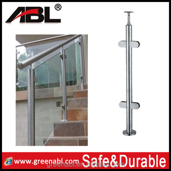 304 stainless steel fence posts for railing handrail