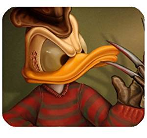 "Donald Duck As Freddy Krueger Mousepad Personalized Custom Mouse Pad Oblong Shaped In 9.84""X7.87"" Gaming Mouse Pad/Mat"