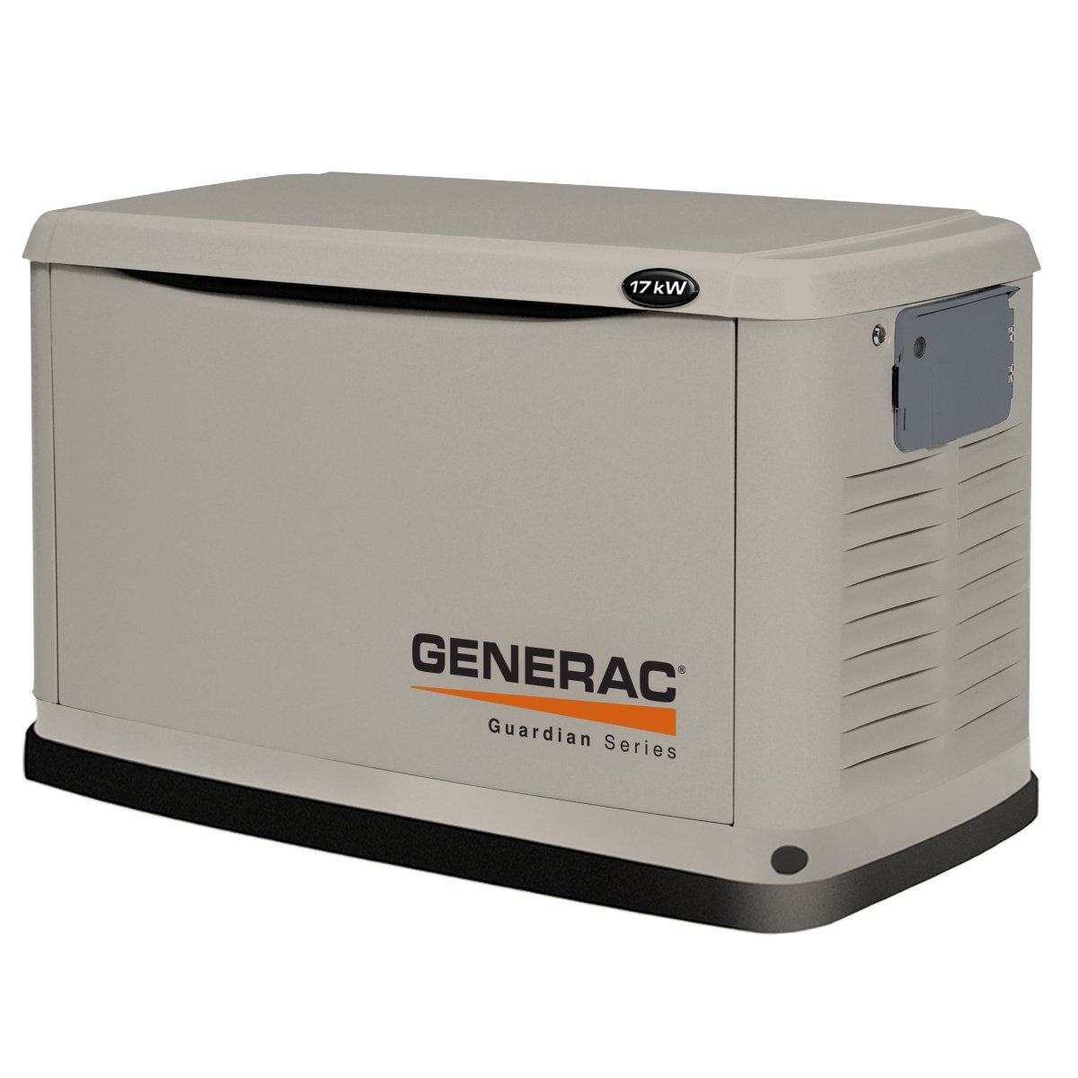 Generac 6248 17,000 Watt Air-Cooled Steel Enclosure Liquid Propane/Natural Gas Powered Standby Generator (CARB Compliant) without a Transfer Switch (Discontinued by Manufacturer)