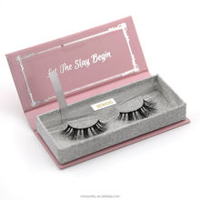 3D real Mink Lashes/100% Mink Fur Eyelashes OEM/Custom Packaging/Private Label Eyelashes Boxes