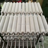 factory made Professional nylon bristle roller brush for industry and cleaning glass