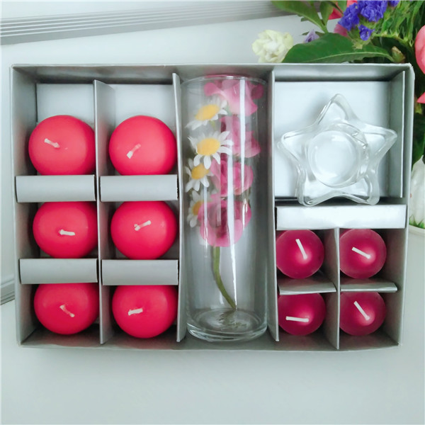 water floating candle candle set white tealight candle promotion candle