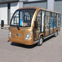 Production 72V/7.5KW 14 Seats Electric Sightseeing bus Electric Car