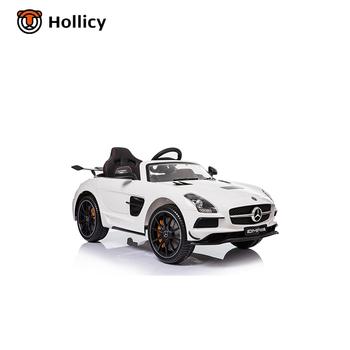 Mercedes Benz Sls Amg Licensed New Kids Power Toy Car 12v Luxury