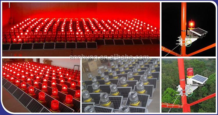 Ls S Led Red Solar Aviation Light Obstruction Light