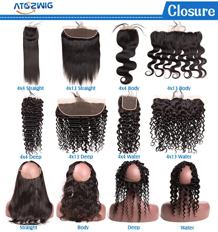 Nature Black #1B Silky Straight Wave Virgin Brazilian African Human Hair Extensions  4 Bundles