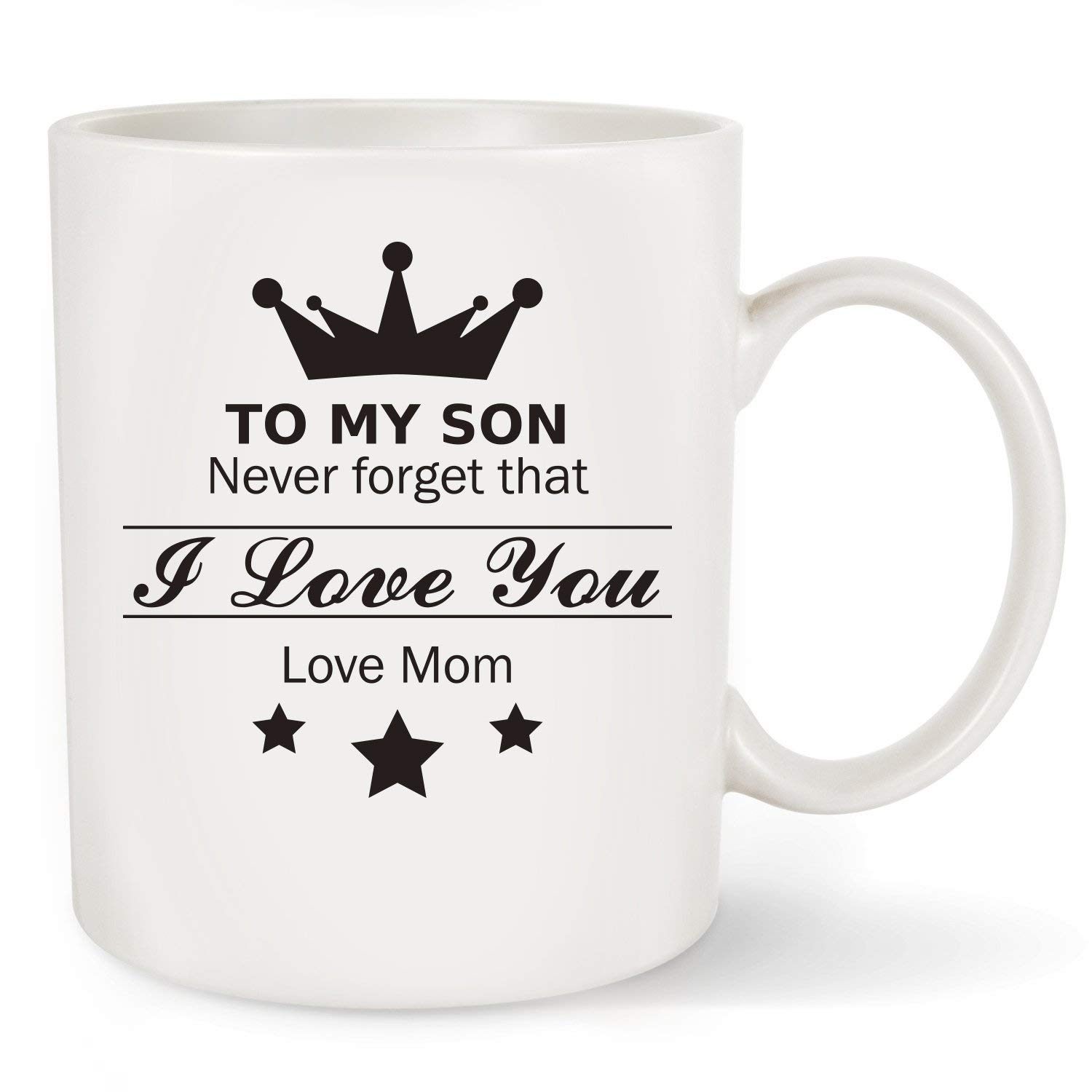 Get Quotations Coffee Mug To My Son