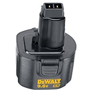 DEWALT DW9061 XR 9.6-Volt 1.7-Amp NiCd Pod Style Battery Pack, Model: DW9061, Hardware Store