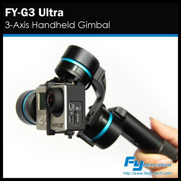 FY G3 Ultra 3 axis stabilizer for gopro hero 3/3+/4