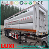 High quality jumbo gas cylinder tanker trailer 25MPa container tube cng tank trailer