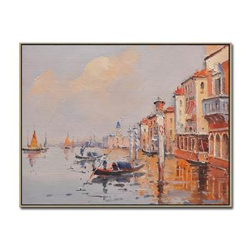 Impressionnal Venise Paysage Mur Suspendu En Toile à L Huile De Scène De Rue De Peinture D Art Buy Peinture à L Huile De Scène De Rue Peintures
