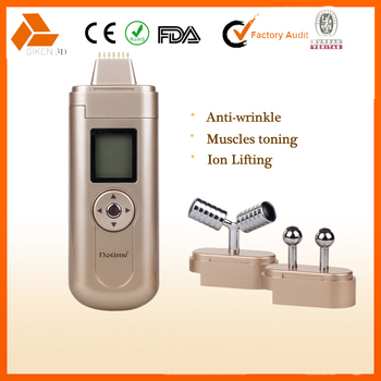 Mini home use multifunctional facial lifting anti-wrinkle galvanic beauty instrument