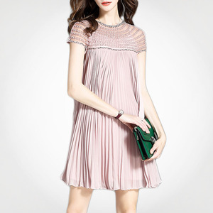 Spring Summer Brief Loose Women Dress Bangladesh Shenzhen Clothing Factory