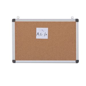 aluminum frame push pins bulletin board