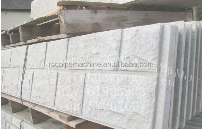 concreto decorativo moldes poliuretano molde para piedra artificial molde de la pared exterior
