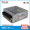 MEAN WELL 35w NED-35B 5V 24v dual output programmable dc Power Supply