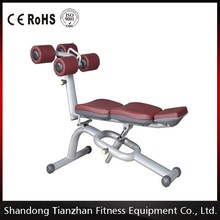 gym machine Fitness Exercise Equipment Abdominal Muscle Trainer Hand Weight Workout/TZ-6027 Adjustable Abdominal Bench