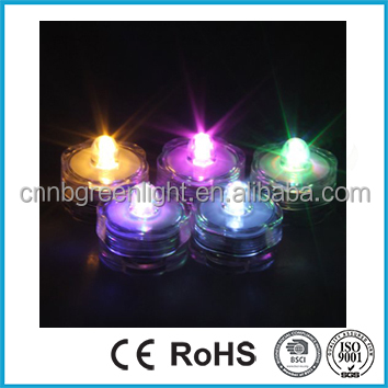 Waterproof Wedding/Party/ Xmas Floral Decoration Submersible Light