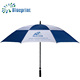 Fiberglass air vented windproof golf umbrellas with good quality