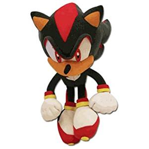 Official Sonic the Hedgehog Black Shadow Plush Soft Toys - 10 by Sega