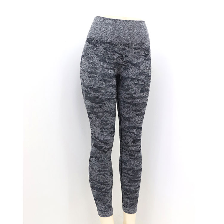 2019 Women'S Tight-Fitting Camouflage Sweatpants Workout Clothes Yoga Pants