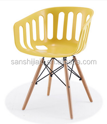 Outdoor furniture general use plastic pp modern cafe chairs