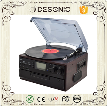 Multiple function Bluetooth CD Turntable | Encodable records player