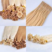 remy hair 100% high quality organic temple hair fertilizer i tip hair