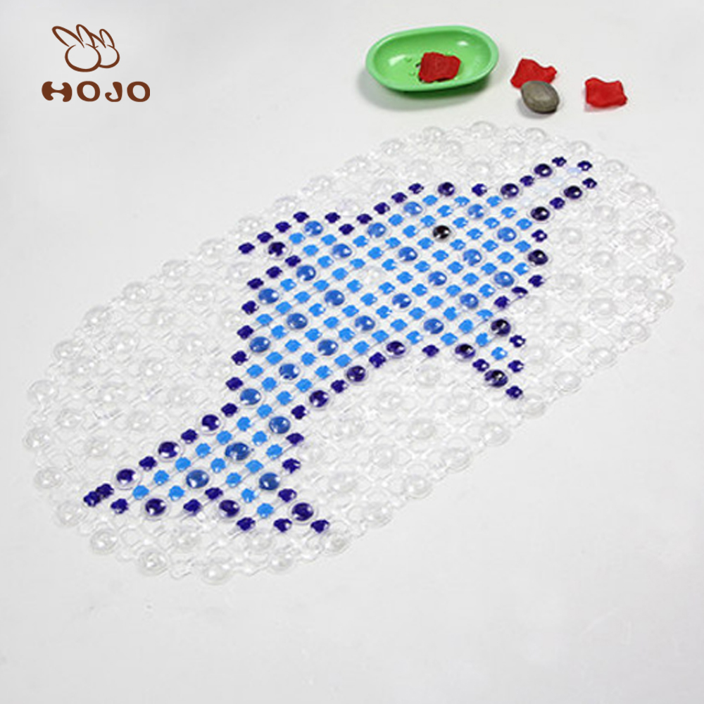 2018 best selling new animal pvc pet floor mat/fish bath mat/foot carpet