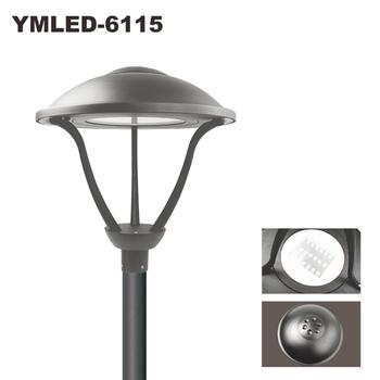 New Own Design Led Garden Pole Lights Outdoor Lighting General Use Parking Yard Square