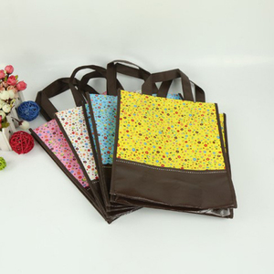 Eco-Friendly Pp Spunbond Non-Woven Laminating Market Grocery Gift Trade Show Shopping Bag