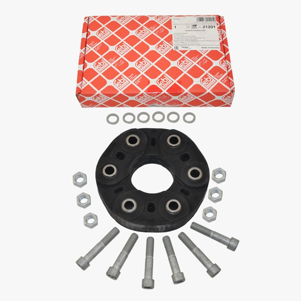 Mercedes Rear Drive Shaft Flex Disc Coupling Kit Febi Germany 2114100415