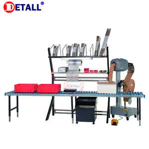 Detall ESD Modular Packing Table Workbench for Workshop/Garage/factory