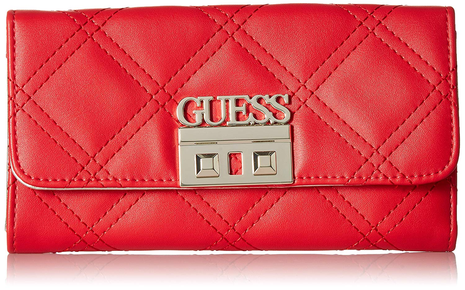 e272a71ec8 Get Quotations · GUESS Status Multi Clutch Wallet Lipstick
