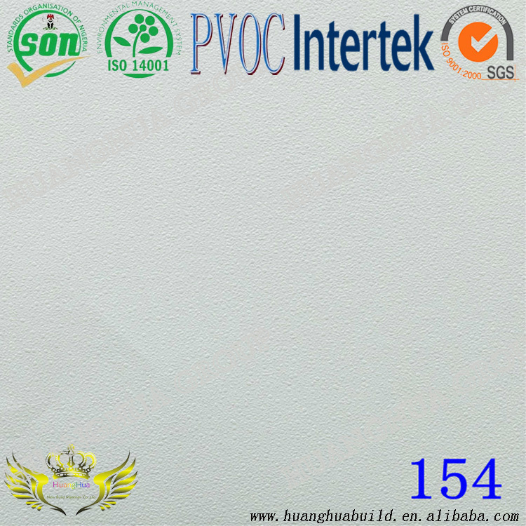 China pvc laminated gypsum suspend ceiling tile /pvc gypsum ceiling board