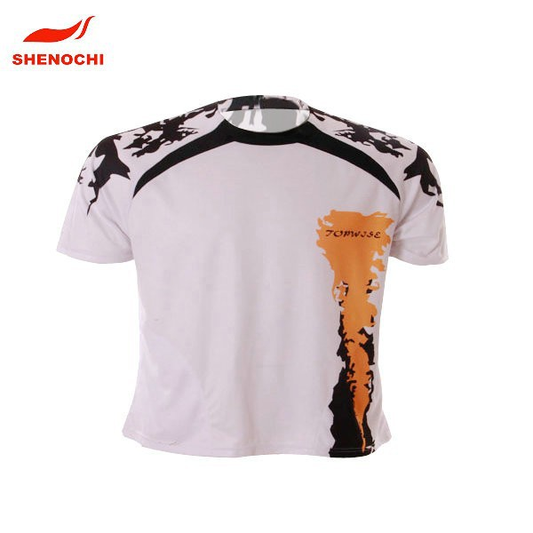 Fashional New Design High Quality Soft 100% polyester Sport T-Shirt
