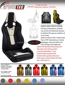 Auto Carbon Fiber FRP Racing Seats/Auto Bucket Sports Seats