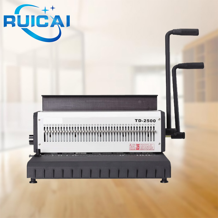 Factory Price Double Loop Spiral-o Wire Binding Machine