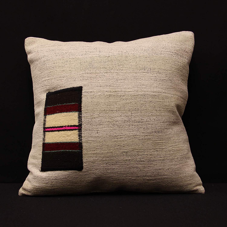 Get quotations · designed by tursun kilim pillow 16x16 inch homekitchen bedding pillow covers decorative pillow boho kelim pillow