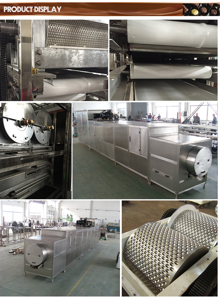 Fully Automatic Commercial Hot Chocolate Bean Forming Machine